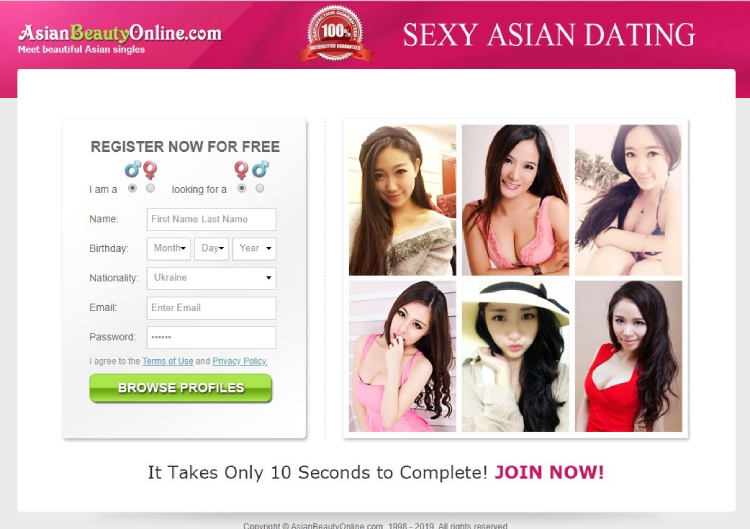 Asianbeautyonline home page, dating asian women