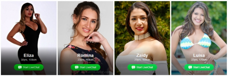 LatamDate is best for finding a bride, dating latin women