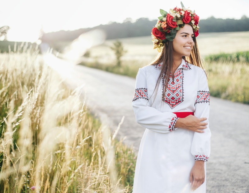 Beautiful Ukrainian woman