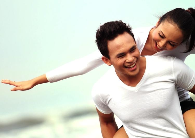 Happy couple, find asian bride