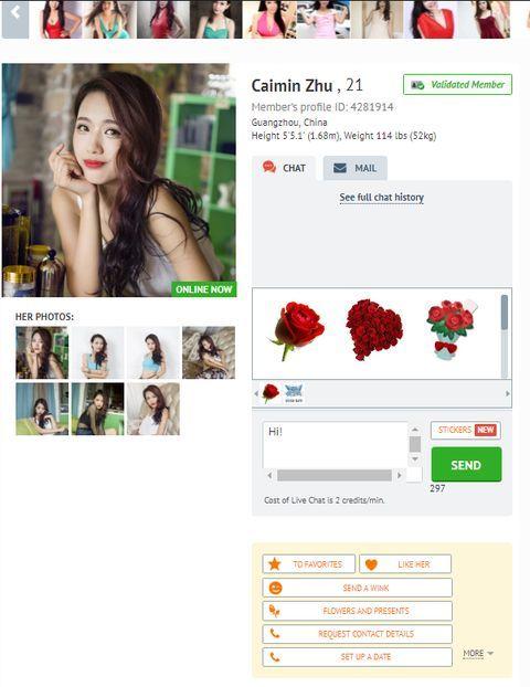 AsiaCharm profiles