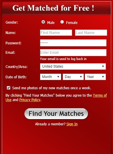 LatinWomenDate Registration get matches, dating latin women